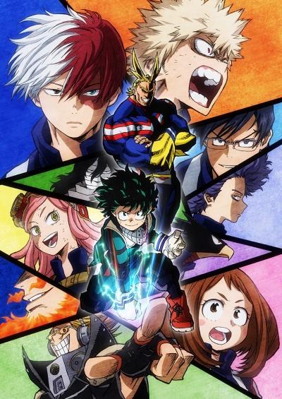 Моя геройская академия 1 сезон