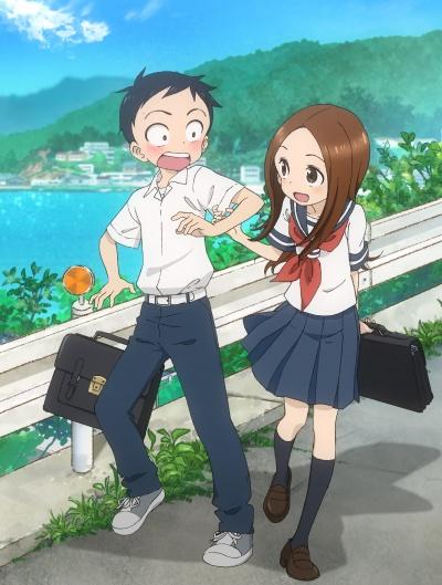 Поддразнивание Такаги 1 сезон