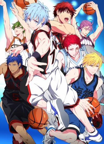 Баскетбол Куроко 1 сезон