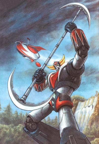 Инопланетный робот Грендайзер